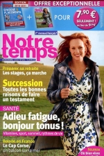 "Article ""A chaque moment son thé"" for the french magazine Notre Temps"