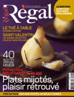 Article for the french gastronomy magazine Régal